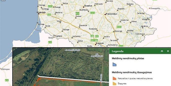 """Priimamos paramos pagal Lietuvos kaimo plėtros 2014–2020 metų programos priemonės """"Investicijos į materialųjį turtą"""" veiklą """"Meldinių nendrinukių buveinių išsaugojimas"""" paraiškos"""