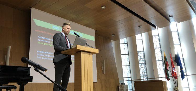 Artėjant 2019 m. žemės ūkio naudmenų ir kitų plotų deklaravimui seminare aptartos paraiškų teikimo naujovės